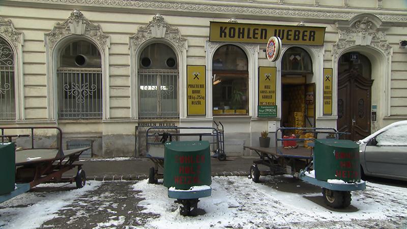 Kohlehändler Weber Kohle