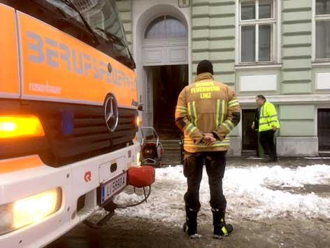 CO Alarm in Linzer Wohnung