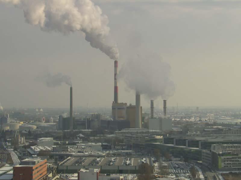 Fernwärmekraftwerke laufen auf Hochtouren