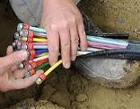 Glasfaserkabel Breitband Internet