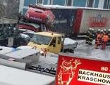 Lkw Unfall Lavamünd Schnee Kirche