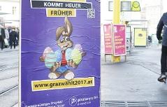Wahlplakat der Piraten