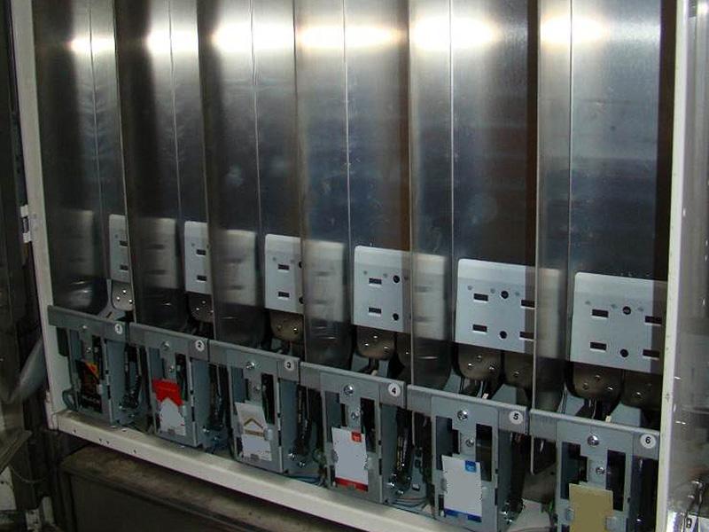 Aufgebrochene Zigarettenautomaten