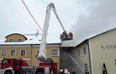 Brand in Enzenkirchen