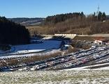 Autos auf Salzburg Ring abgestellt