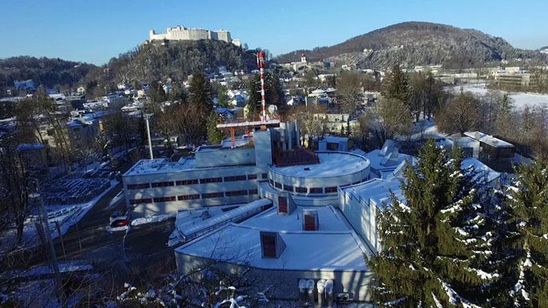 ORF Landesstudio Salzburg im Winter