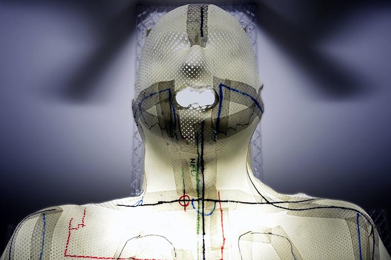Eine Schutzmaske für die Bestrahlung von Tumoren im HNO-Bereich