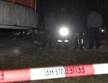 Polizei an Unfallort