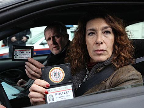 "Adele Neuhauser als Komissarin in ""Tatort"""