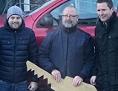 Vinko Kušej Pliberk Šumnik nagradna igra zmagal avto gospodarsko božična Pliberk