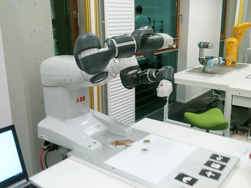Robotik Joanneum Research Lakesidepark