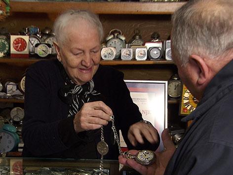 Servus Srecno Ciao Uhrmachermeisterin Museum Kamnik