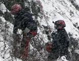 Bergputzer bei der Arbeit am Mönchsberg