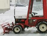 Minischneeräumfahrzeugtraktor