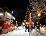 """Der """"Guten Morgen Österreich""""-Truck im Schnee"""