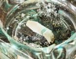 Zigarette ausgedämpft