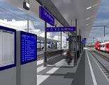 Visualisierung Bahnhof Tulln