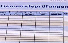 Gemeindeprüfung Rechnungshof