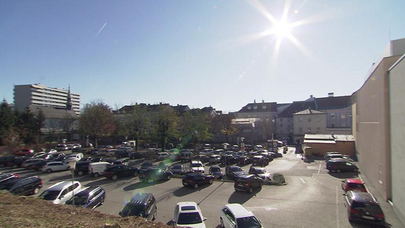 Kastner und Öhler Parkplatz