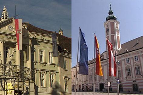 Rathaus Baden St. Pölten Kulturhauptstadt 2024 Bewerbung