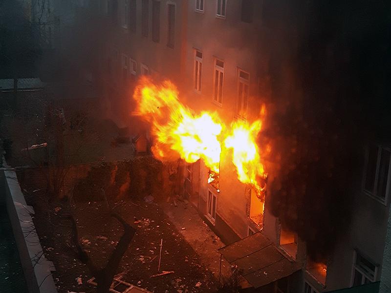 Gasexplosion Hernals