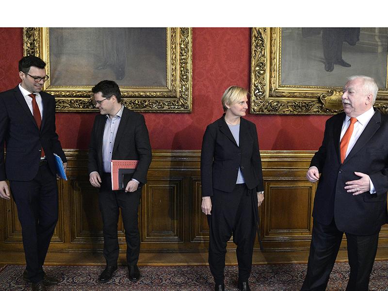 SPÖ Häupl Czernohorszky Frauenberger Himmer