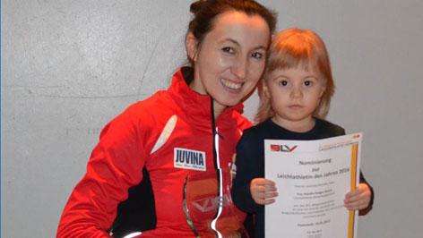 Natalija Steiger atletičarka 2016