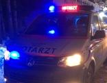 Rettungsauto Nacht Schnee