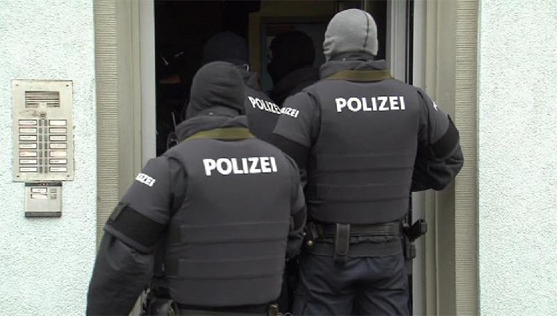 Anti Terror Einsatz Graz