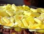 Erdäpfel-Kartoffel-Auflauf
