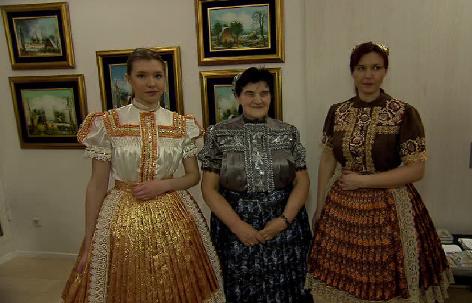 """Ausstellung """"Kovacica im Winter"""", Slowakisches Institut"""