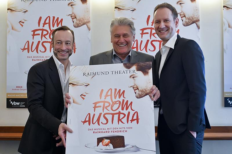 Christian Struppeck, Musiker Reinhard Fendrich und Autor Titus Hoffman