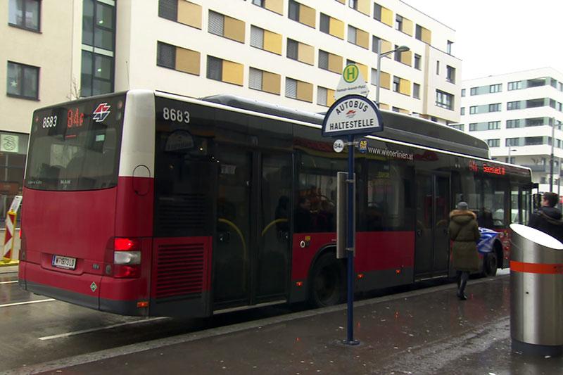 Bus Seestadt Aspern