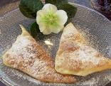 Gericht Polsterzipf mit Marmelade
