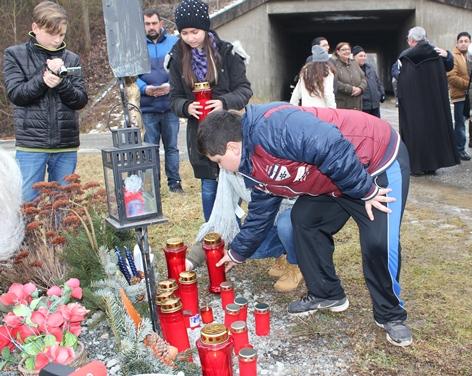 Gedenken an das Roma Attentat in Oberwart