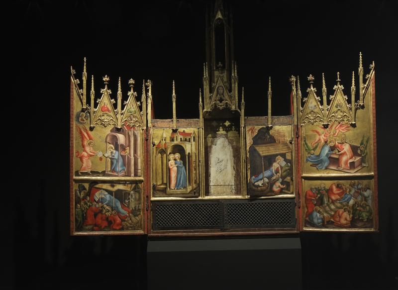 Neupräsentation des Altars von Schloss Tirol im Ferdinandeum