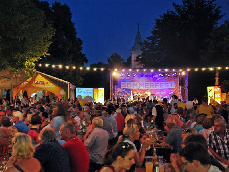 ORF Burgenland Sommerfest in Rechnitz