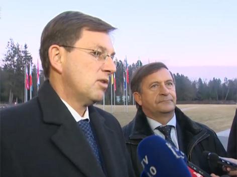 Miro Cerar premier Karl Erjavec zunanji minister Brdo