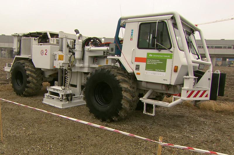Geothermie Untersuchung in Aspern