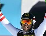 Marcel Hirscher jubelt über Sieg im Slalom