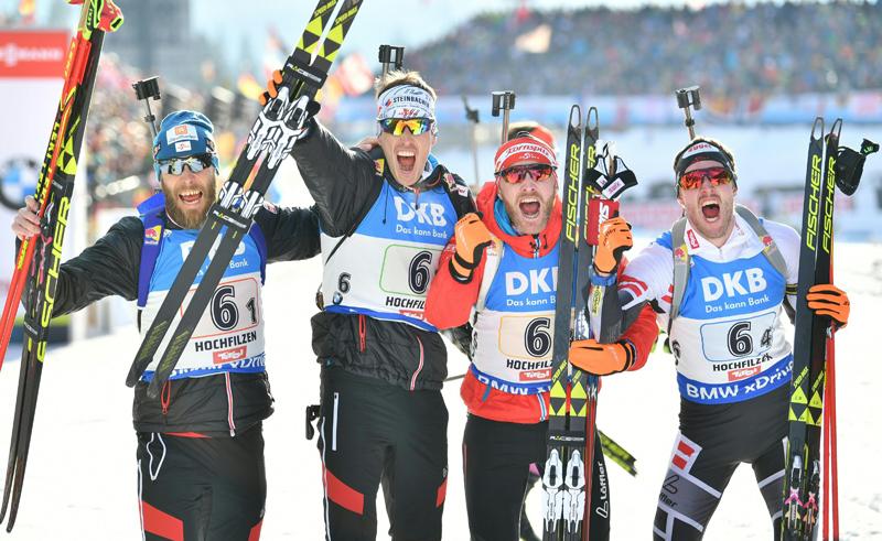 Herren-Staffel holt WM-Bronze
