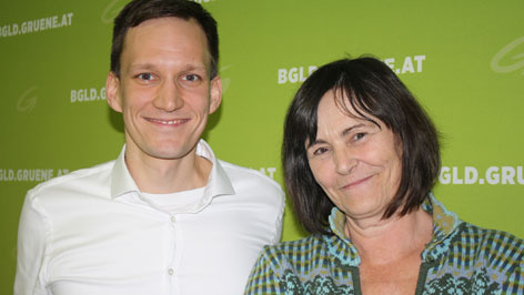 Edith Ivančić i Christian Pavišić Zeleni