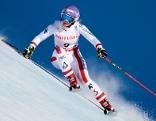 Michaela Kirchgasser bei Skirennen