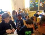 Kinder bei der Bürgersprechstunde Mini Salzburg 2017