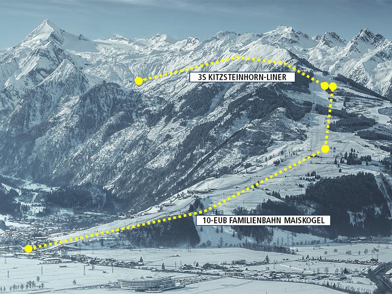 Neue Verbindung von Kaprun zum Kitzsteinhorn
