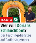 Dorians Schlauchboot