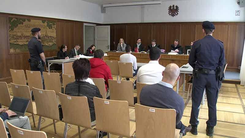 Prozess Raubüberfall Annenheim Gericht