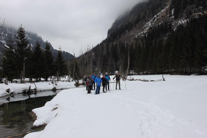 Schneeschuhwanderung, Longa, Weißpriach, Seekreuz, Rundweg