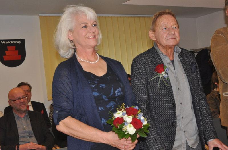 Wolfgang Ambros und Uta Schäfauer