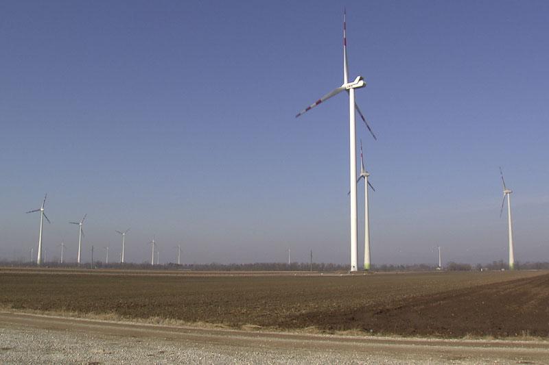 Windräder Marchfeld